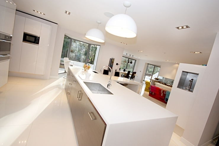 Lighting Inspire Audio Visual Modern kitchen
