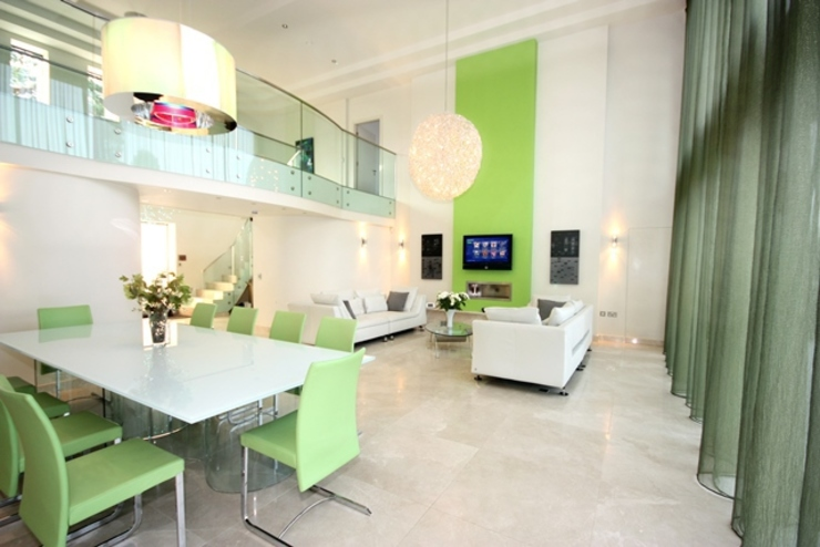 Living Space Salas de estar por Inspire Audio Visual