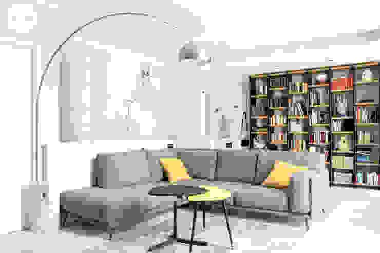 La zona relax Soggiorno moderno di Spazio 14 10 di Stella Passerini Moderno