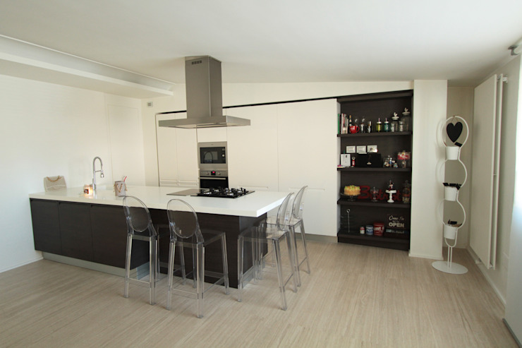 Gimmigi Lab Architettura Modern kitchen