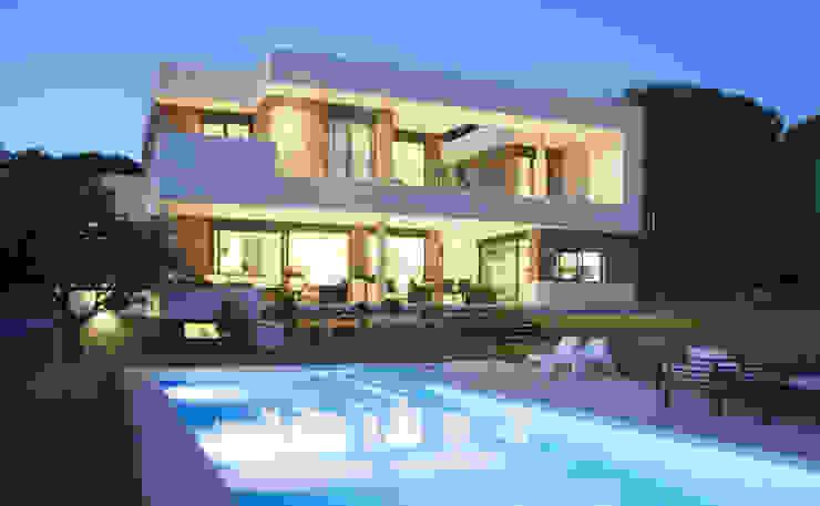 Casa en Galapagar Casas de estilo moderno de Lauffer-Iza arquitectos Moderno