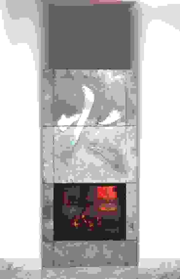 fireplace 1 CHRISTIAN THEILL DESIGN ВітальняКаміни та аксесуари