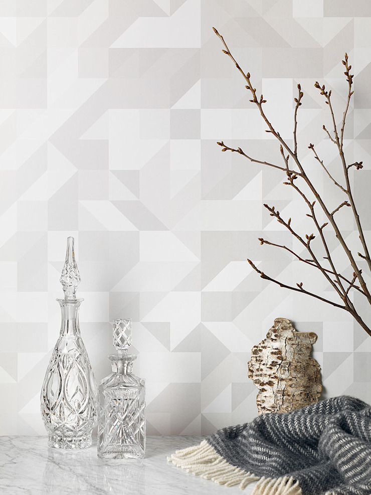 Mr perswall - Temperature Wallpaper Collection: minimalist  by Form Us With Love, Minimalist