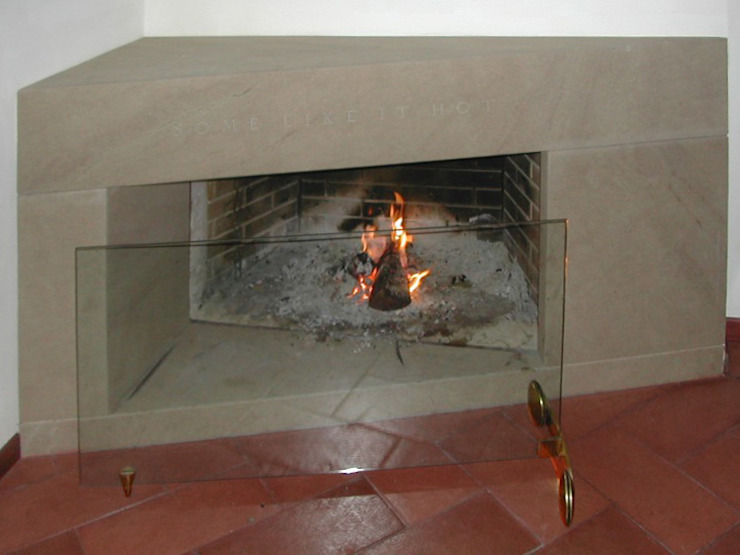 fireplace 2 CHRISTIAN THEILL DESIGN SalonesChimeneas y accesorios