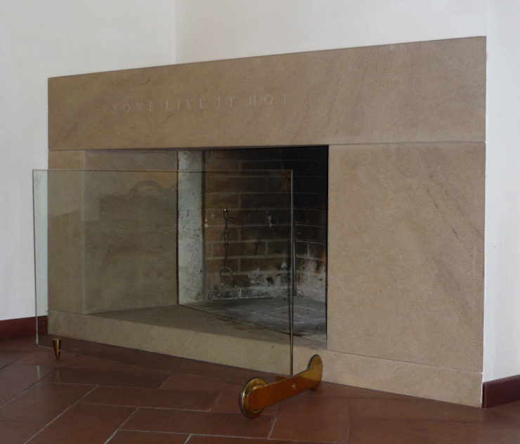 fireplace 2 de CHRISTIAN THEILL DESIGN Moderno