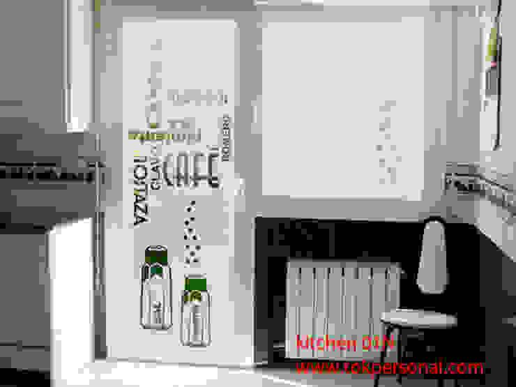 vinilo para cristal puerta KITCHEN 01n de vinilos decorativos TOKPERSONAL Moderno