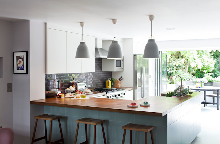 Furlong Road Modern kitchen by Matteo Bianchi Studio Modern