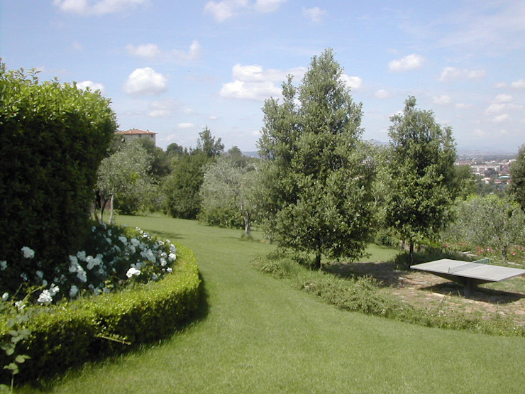 giardino Giardino moderno di CHRISTIAN THEILL DESIGN Moderno
