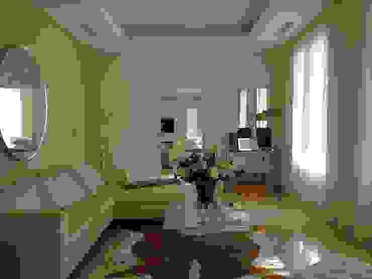 KJ Salones de estilo mediterráneo de Fincas Cassiopea Group / FCG Architects Mediterráneo