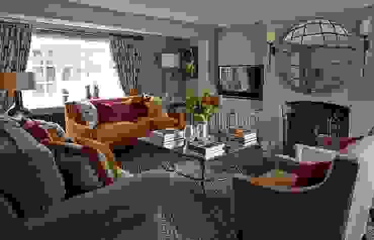 Country Home Living Room Charlotte Crosland Interiors Soggiorno rurale