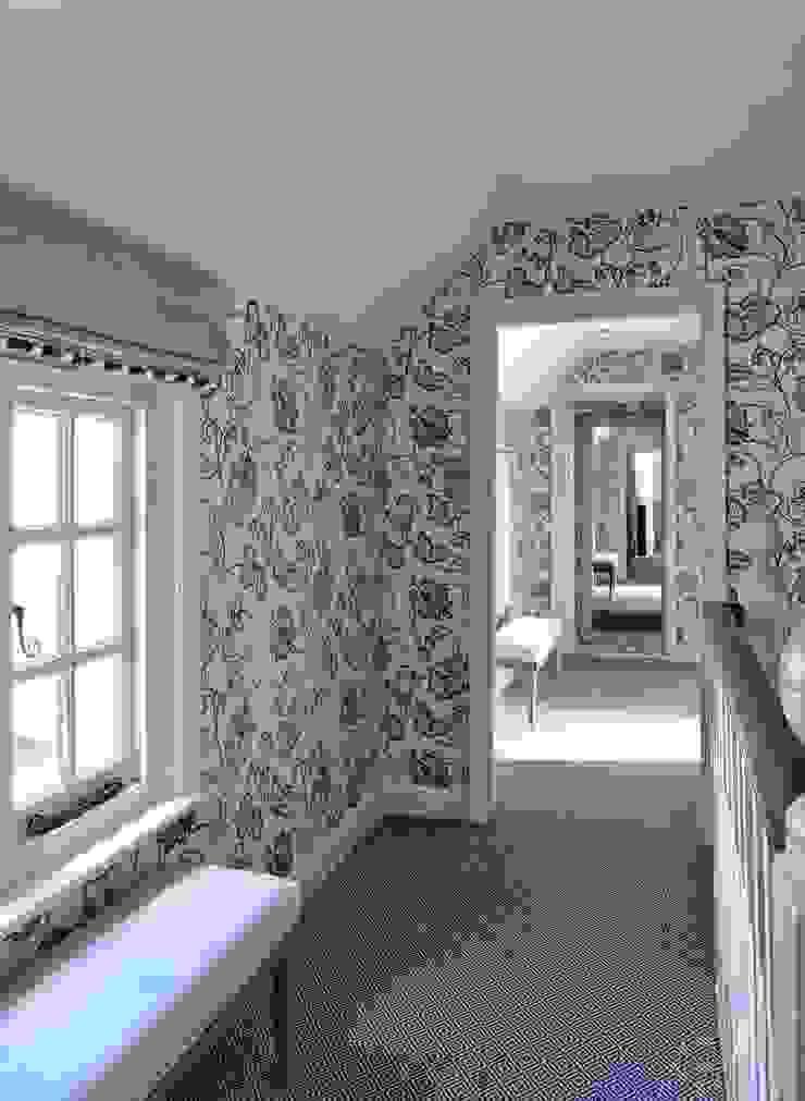 Country Home Landing Charlotte Crosland Interiors Ingresso, Corridoio & Scale in stile rurale