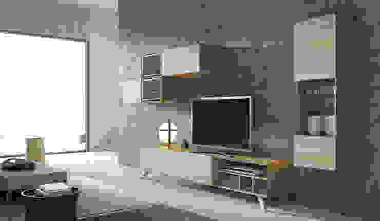 Ambientes salón-comedor de DESIGNA STUDIO Moderno