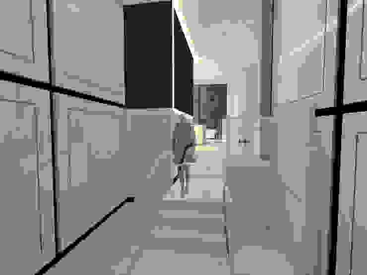 Proyecto interiorismo portal de Lumasa Proyectos Moderno