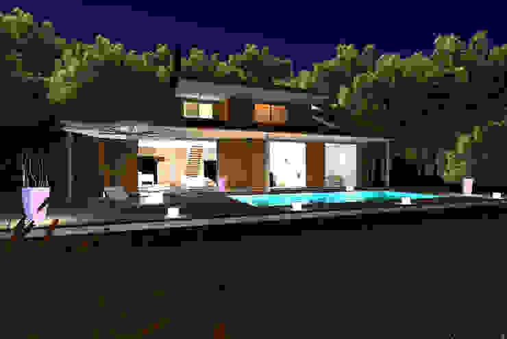 Lake Maggiore Home Case moderne di STUDIO RANDETTI - PROGETTAZIONE E DESIGN Moderno