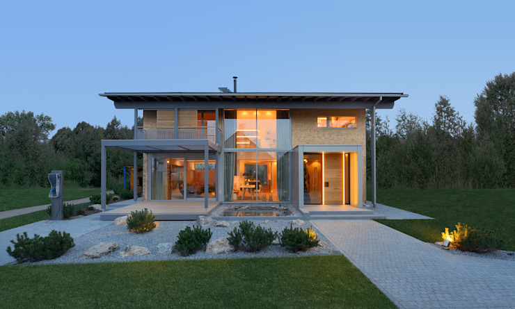 por Bau-Fritz GmbH & Co. KG Moderno