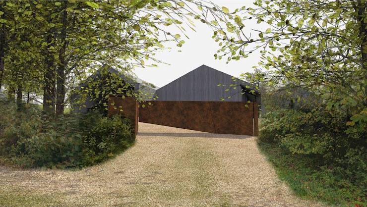The Sheds NPPF Para 55 Modern houses by Seymour-Smith Architects Modern