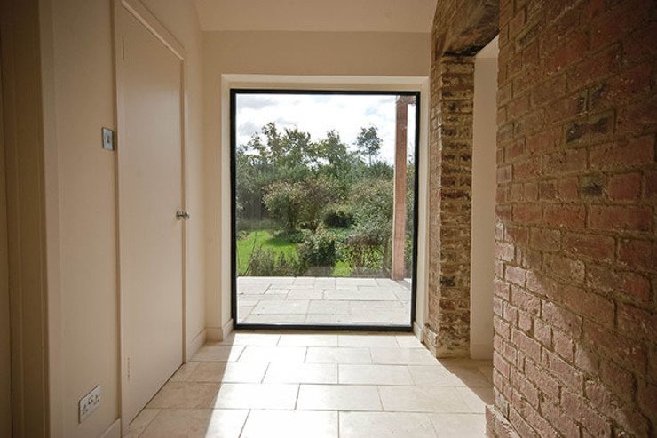 Paddock End Country style corridor, hallway& stairs by Seymour-Smith Architects Country