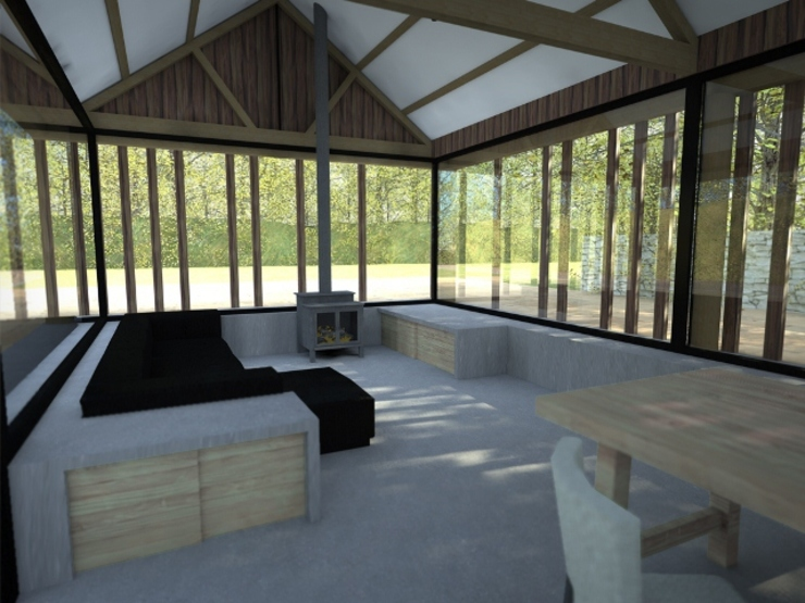 Buckland Barn Modern houses by Seymour-Smith Architects Modern