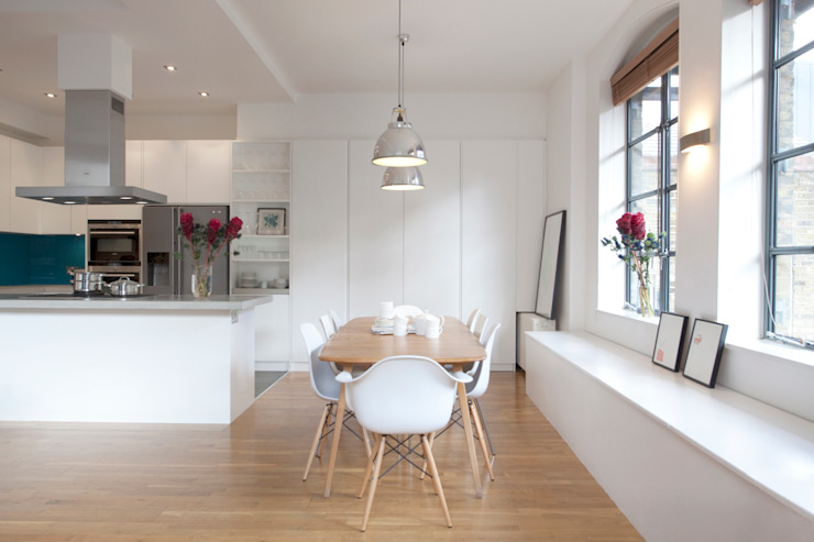 Clerkenwell WC1: Minimal Professional Home Classic style kitchen by Increation Classic