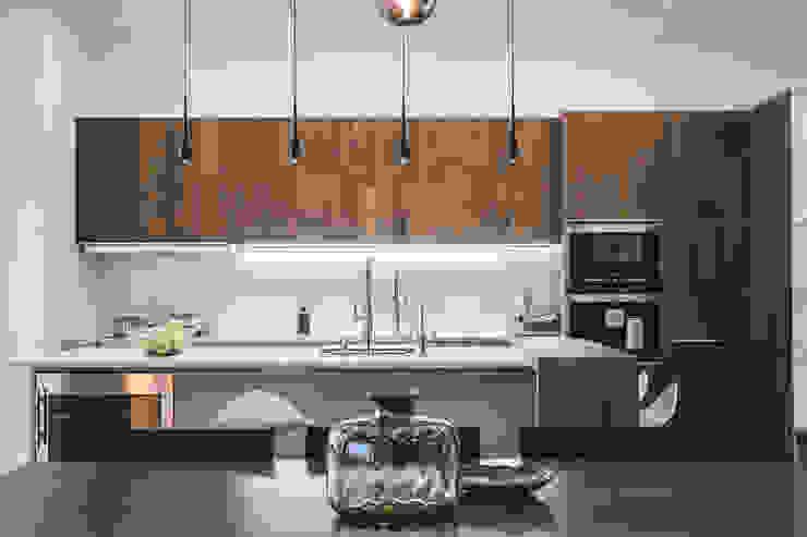 Projekty,  Kuchnia zaprojektowane przez Kristina Petraitis Design House, Minimalistyczny