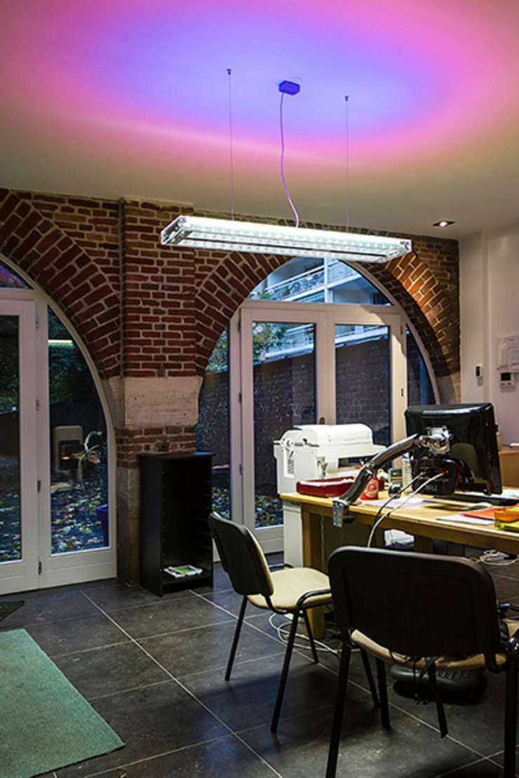 Modern Study Room and Home Office by DOGSIGN Modern
