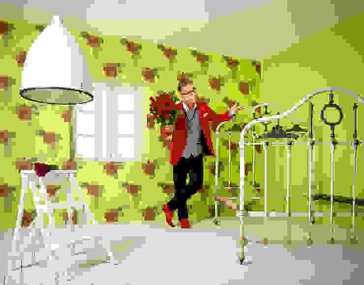 Dormitorio Martrics de Disbar Papeles Pintados Ecléctico