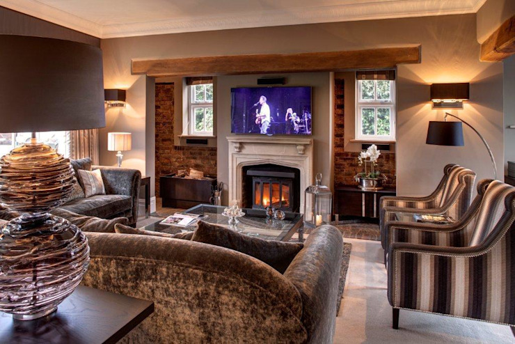 Stable House Salones de estilo moderno de Penelope Allen Design Moderno