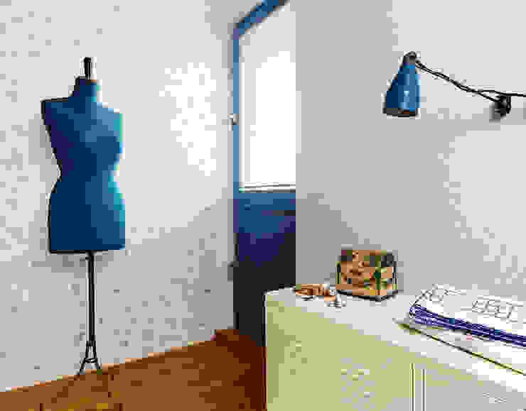 Habitacion Fleuri Pastel de Disbar Papeles Pintados Rústico