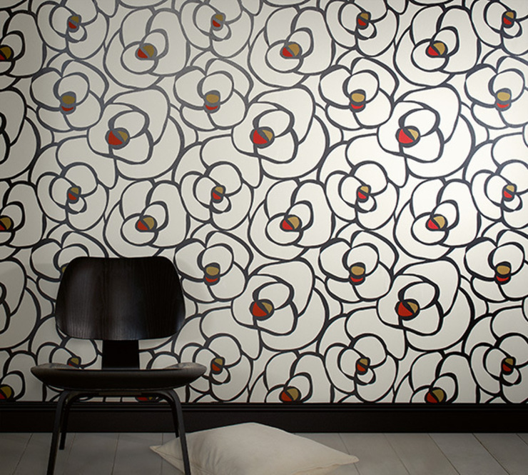 Dormitorio My Home by Raffi de Disbar Papeles Pintados Moderno