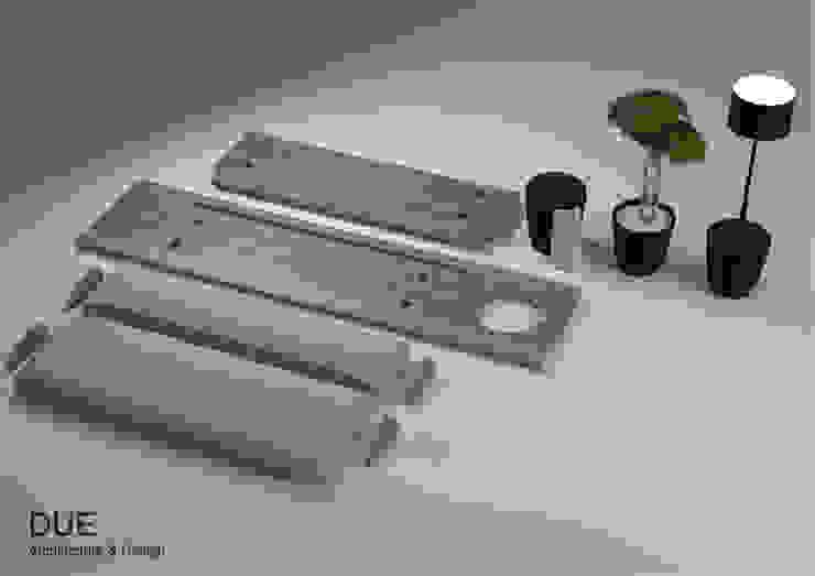 Producto desmontado y complementos de DUE Architecture & Design Escandinavo