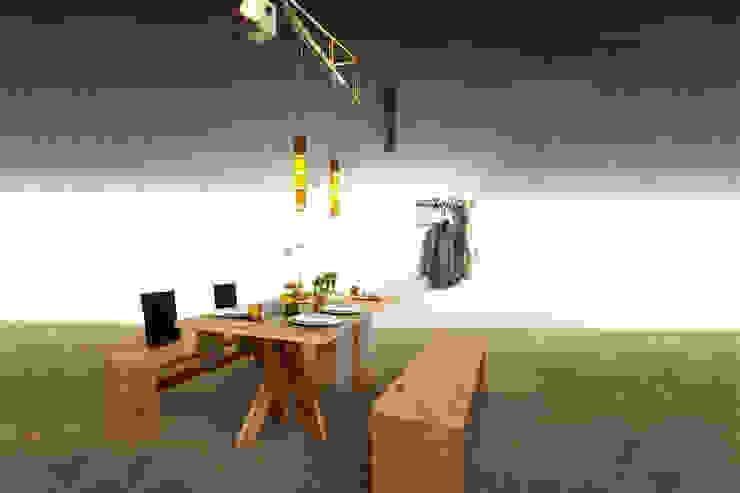 Salas de jantar modernas por reditum // Möbel mit Vorleben Moderno