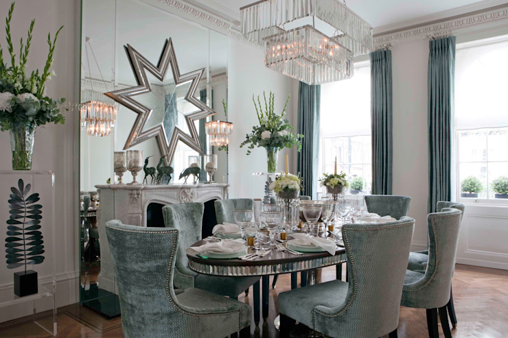 Dining Room: classic  by Siobhan Loates Design Ltd, Classic