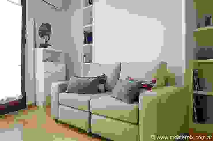 Living/Dormitorio de MINBAI Minimalista