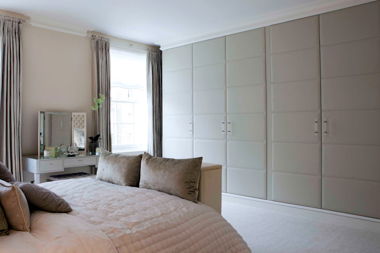 Master Bedroom de Siobhan Loates Design Ltd Clásico