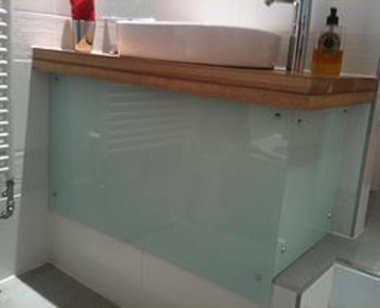 Bathroom sink by Southside Glazing & Joinery