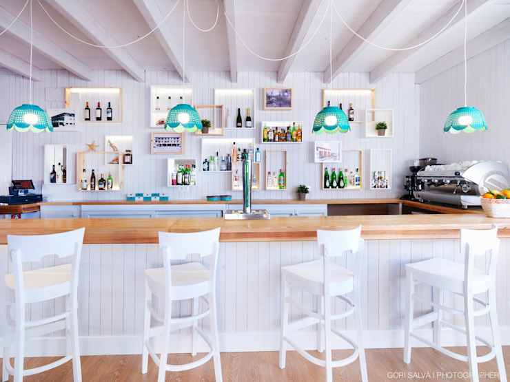 餐廳 by margarotger interiorisme, 地中海風