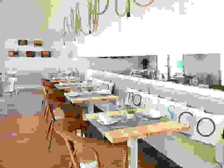 Restaurante MARISCO Gastronomía de estilo mediterráneo de margarotger interiorisme Mediterráneo