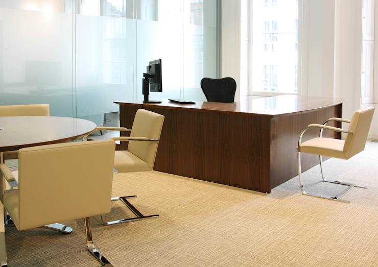 Prestige West End Office Interiors: modern  by 4D Studio Architects and Interior Designers, Modern