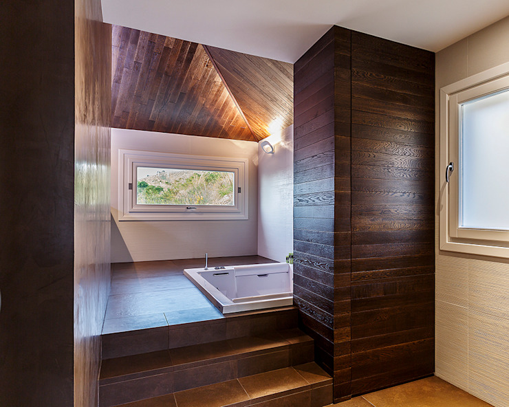 Bath of the bedroom Modern Banyo Studio 4e Modern