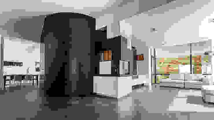 View of the living room Modern Living Room by Studio 4e Modern
