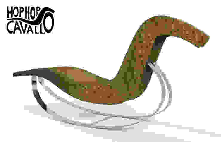 Il progetto in rattan e acciaio di Marco Braccini Architetto Eclettico