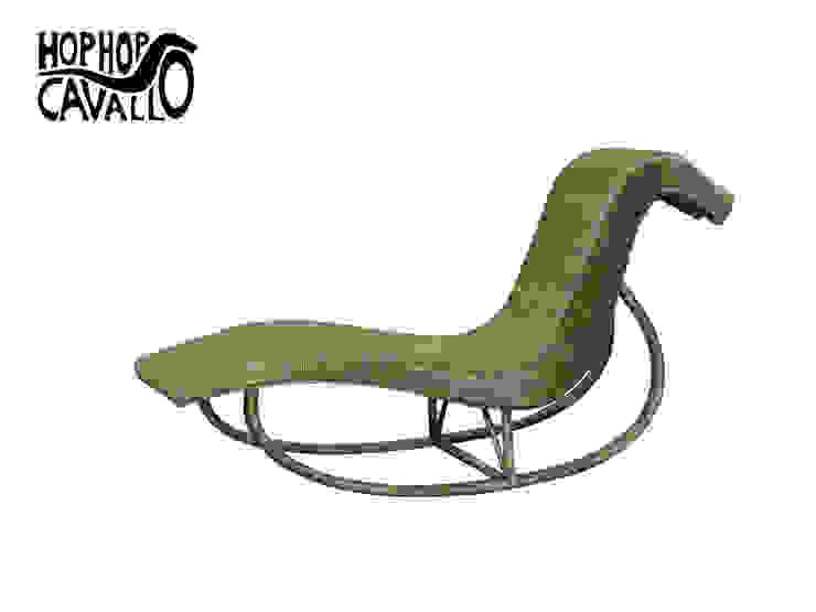 Il prototipo in rattan di Marco Braccini Architetto Eclettico