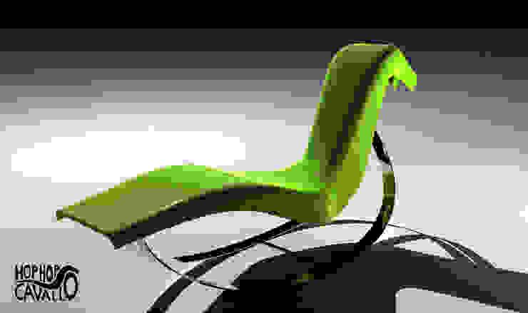 Il progetto in vetroresina e acciaio di Marco Braccini Architetto Eclettico