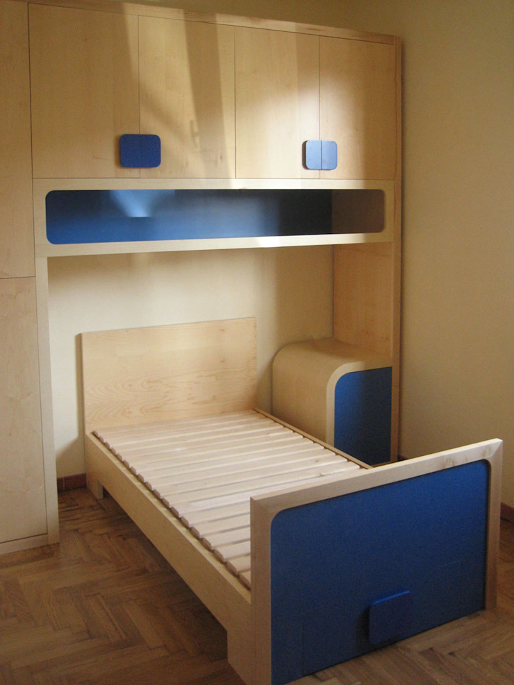 Mia (mine) Modern Bedroom by Marco Braccini Architetto Modern