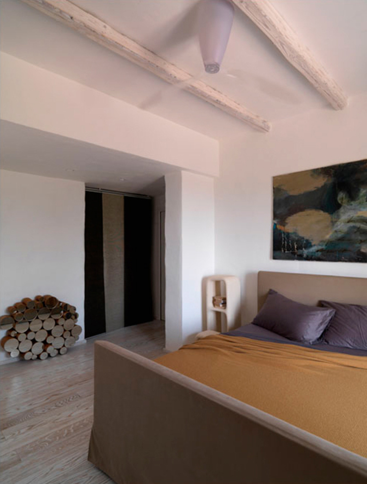 Mediterranean style bedroom by 0-co2 architettura sostenibile Mediterranean
