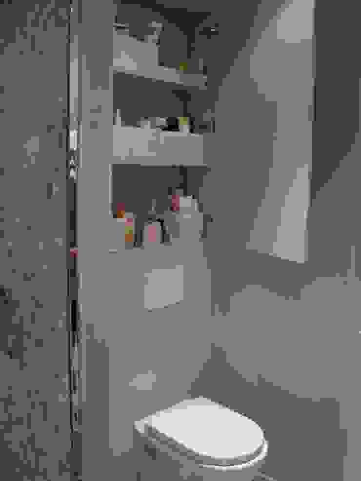 Salle de bain Salle de bain scandinave par Parisdinterieur Scandinave