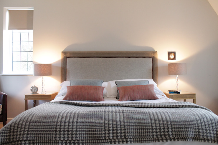Bainbridge Luxury Upholstered Bed: modern  by TurnPost, Modern