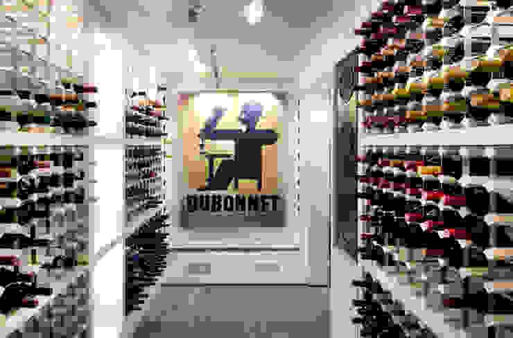 Wine Cellar, Regents Park par Jeff Kahane + Associates