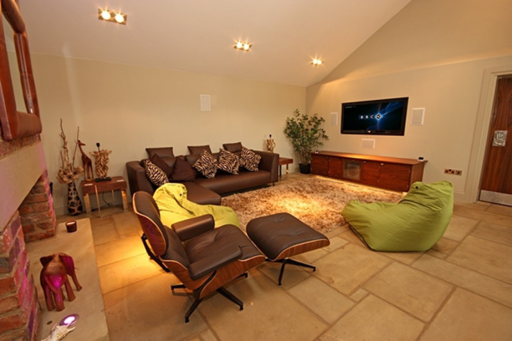 Home Automation Eclectic style living room by Inspire Audio Visual Eclectic