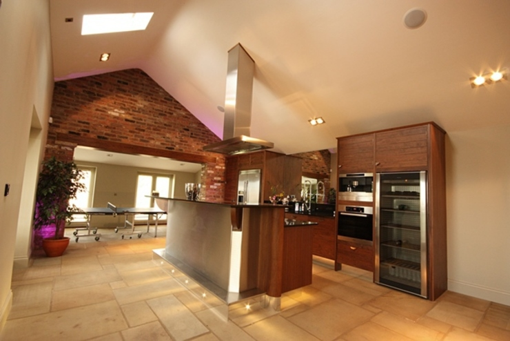 Lighting and Lighting Control Eclectic style kitchen by Inspire Audio Visual Eclectic